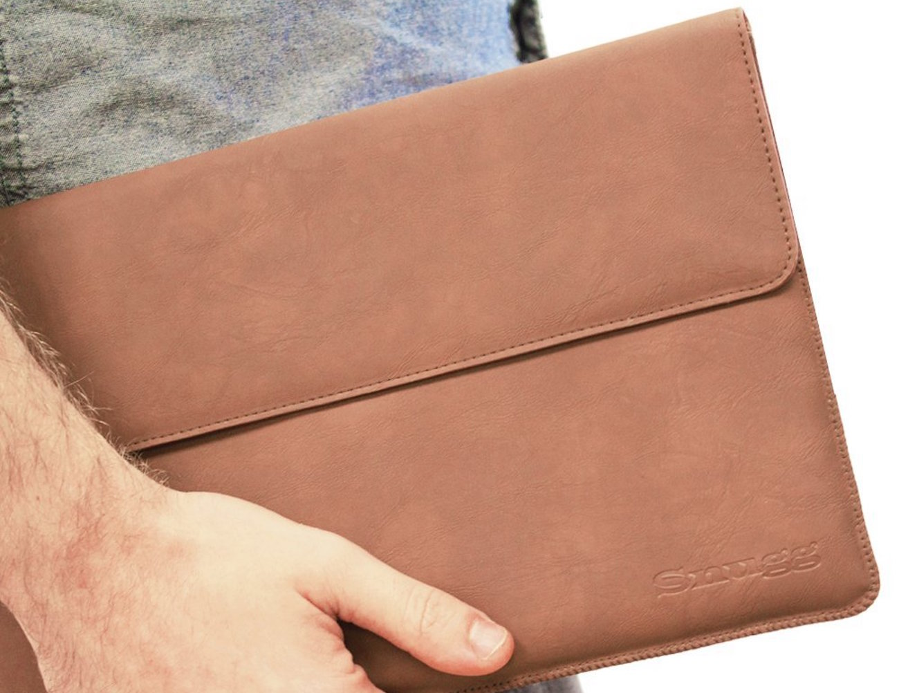 Snugg+Leather+Sleeve+For+Microsoft+Surface+3