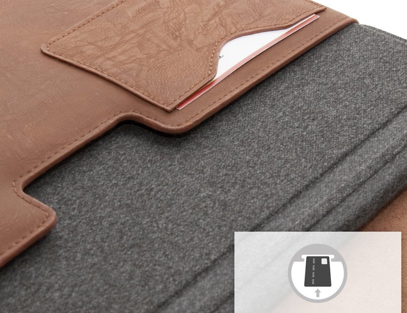 Snugg Leather Sleeve for Microsoft Surface 3