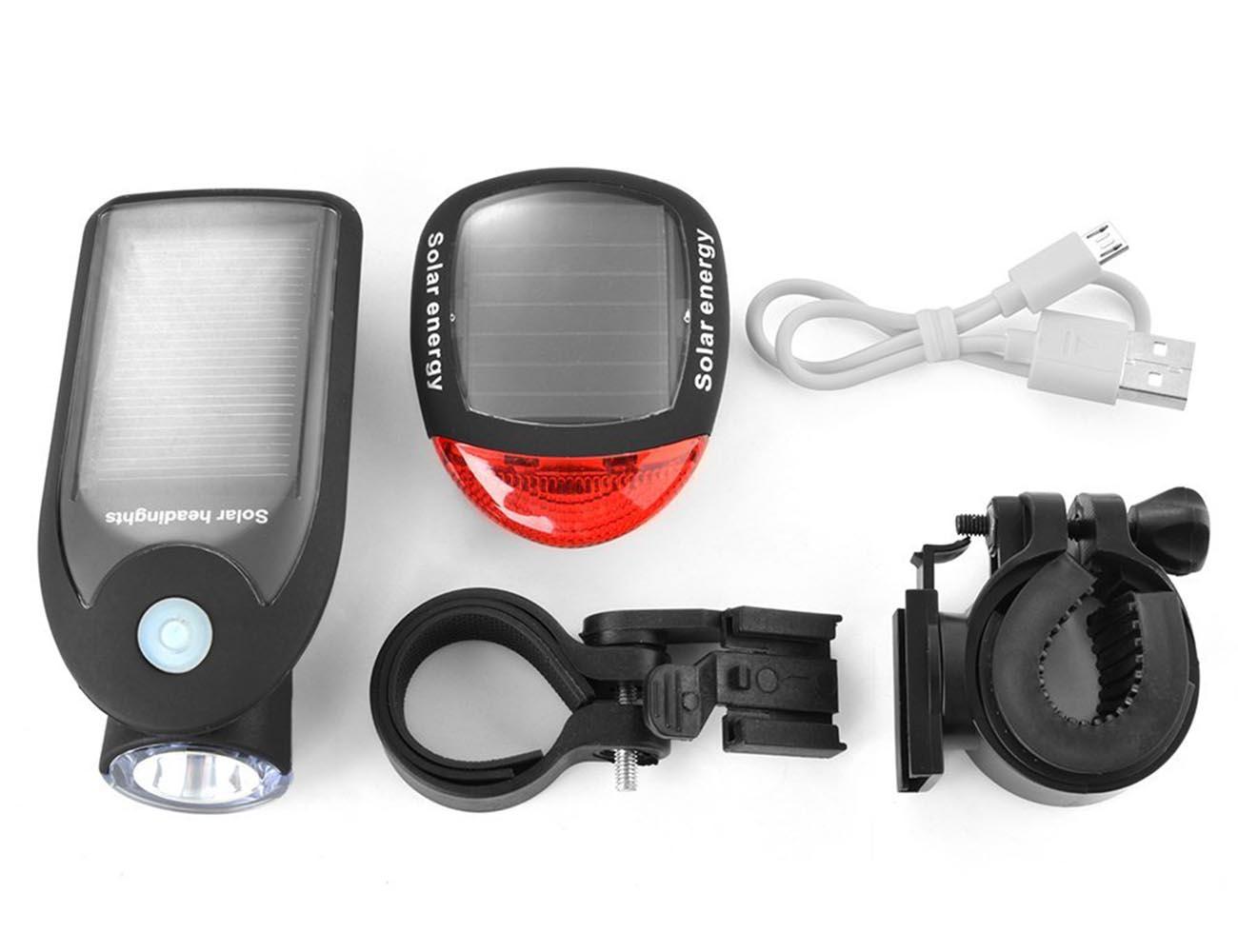 Solar Energy Bike Tail Light