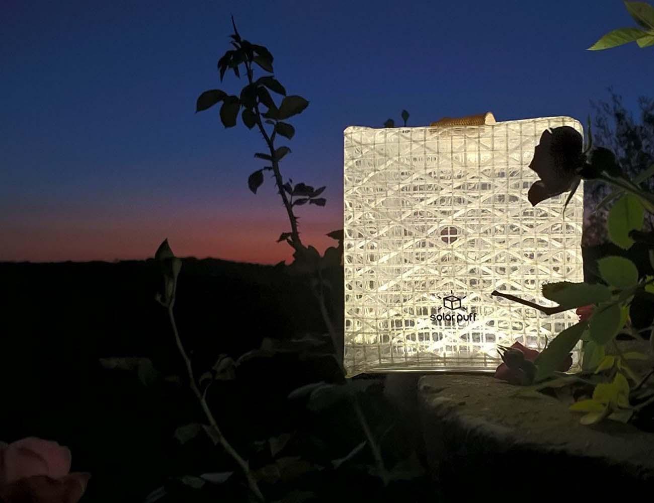 SolarPuff – Foldable Solar Lantern