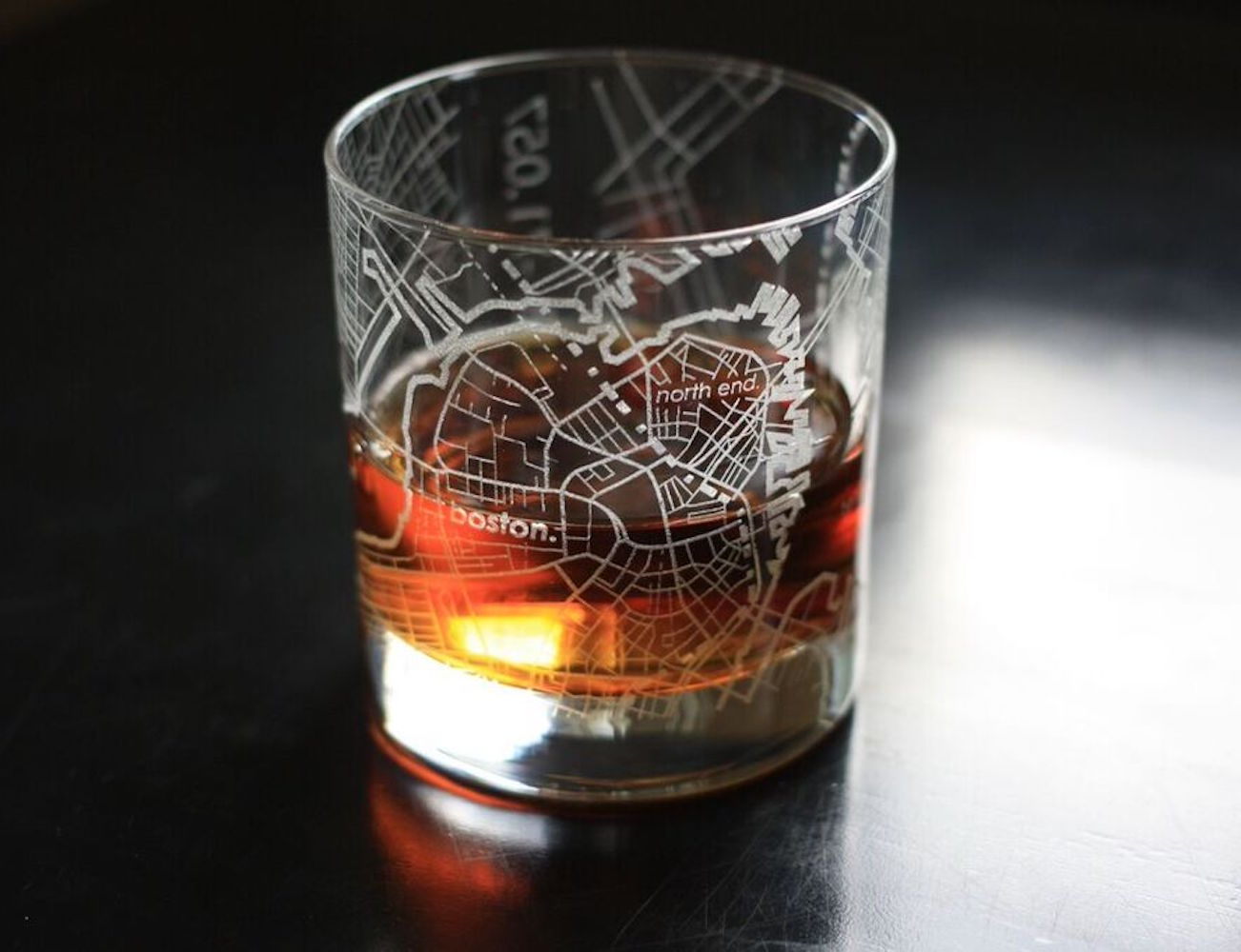 Street Maps Barware