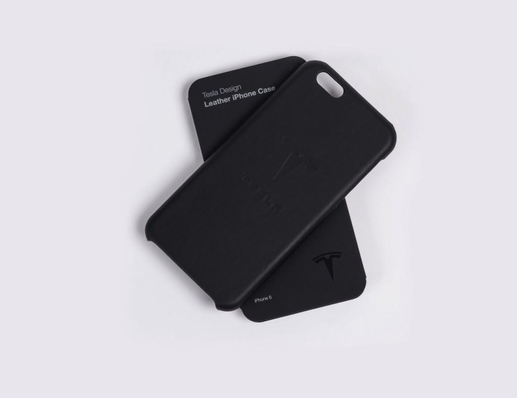 Tesla+Gear+Leather+iPhone+Case