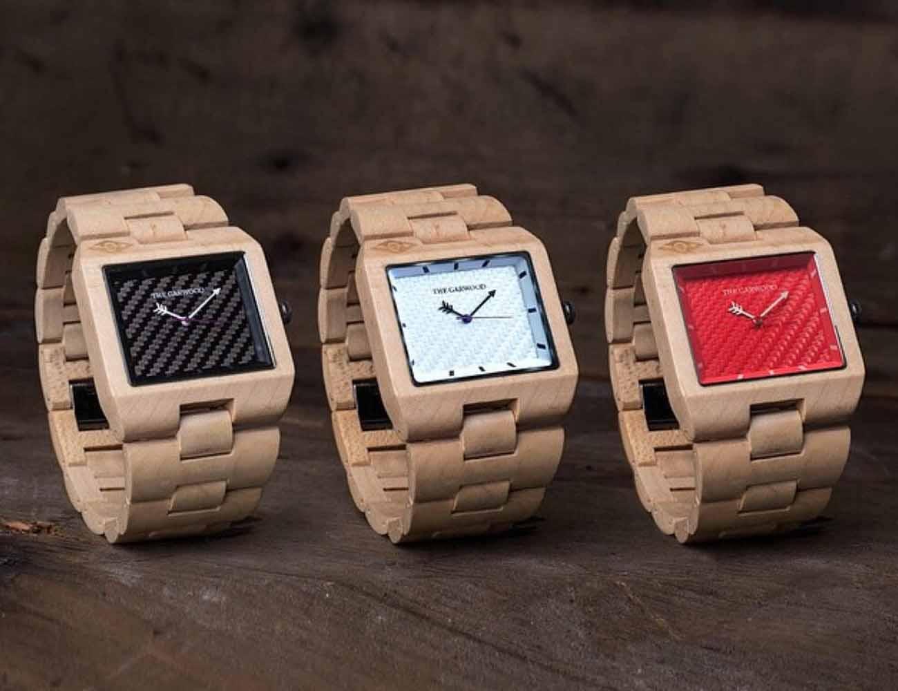 The Garwood Wood Watches