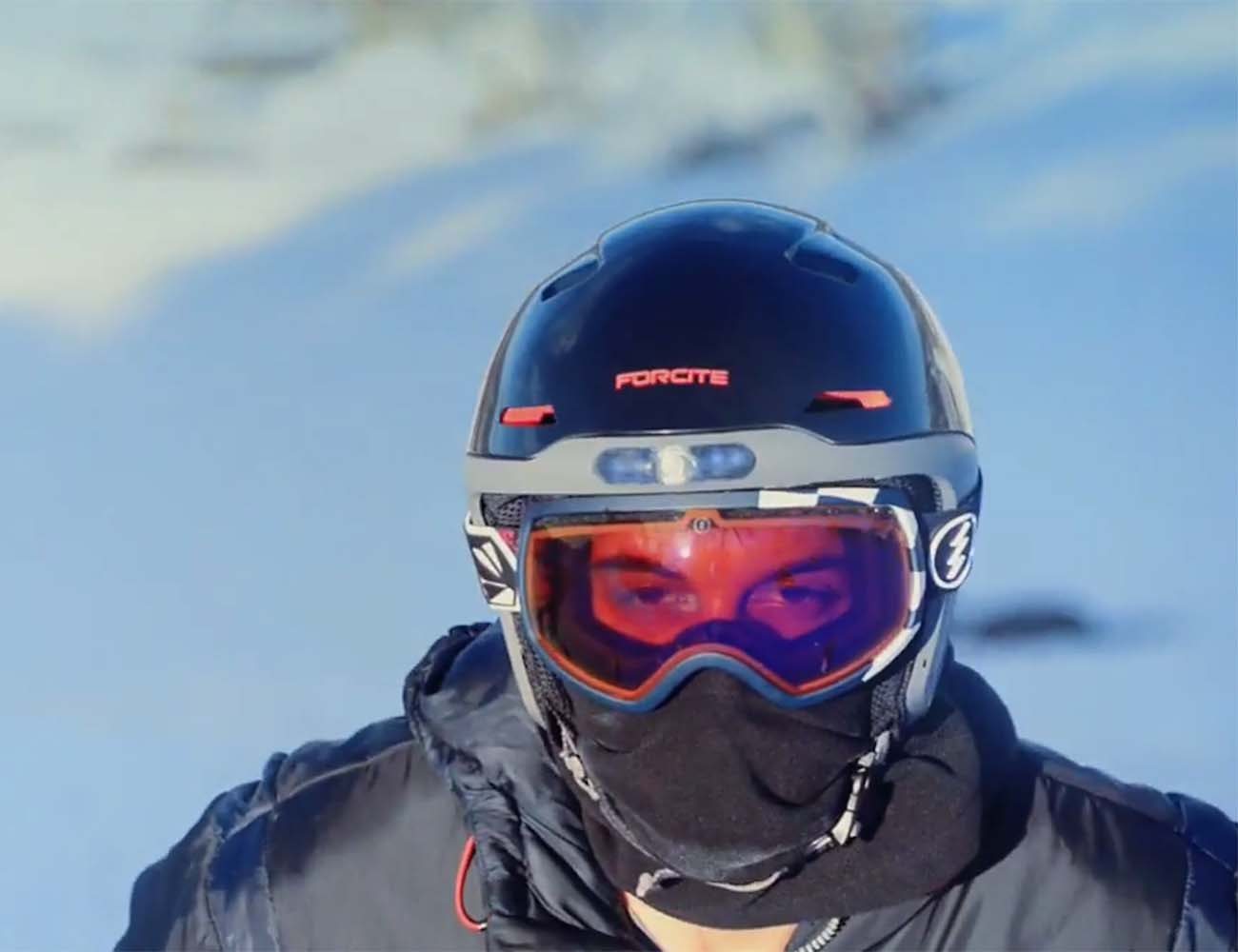 Forcite Alpine – Smart Helmet for Snow Sports