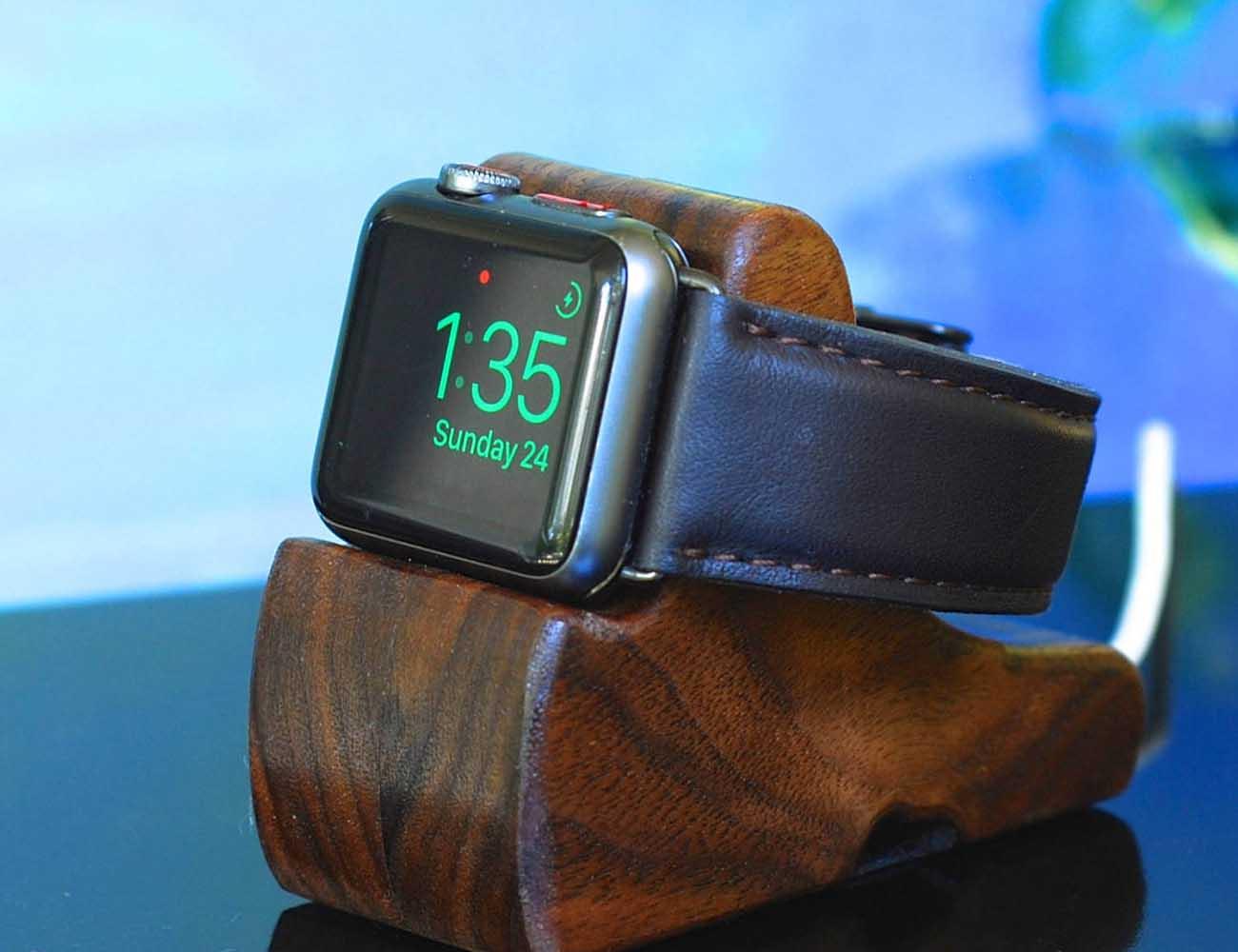 The RIPPLE Apple Watch Stand by SchuttenWorks