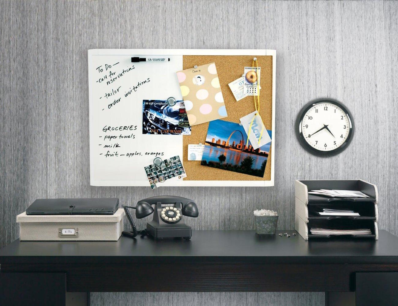 Think Board Peel and Stick Clear Dry Erase Board