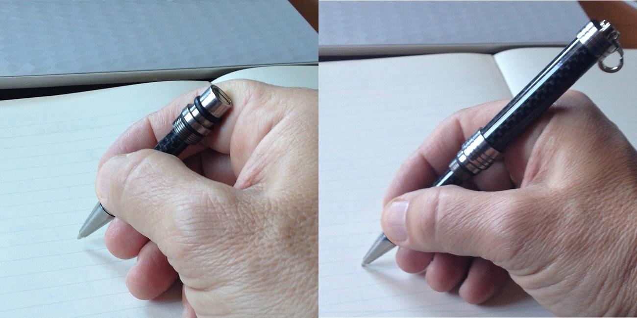 Titan, A Unique Edc Pen Made With Carbon Fiber And Titanium Grade 5