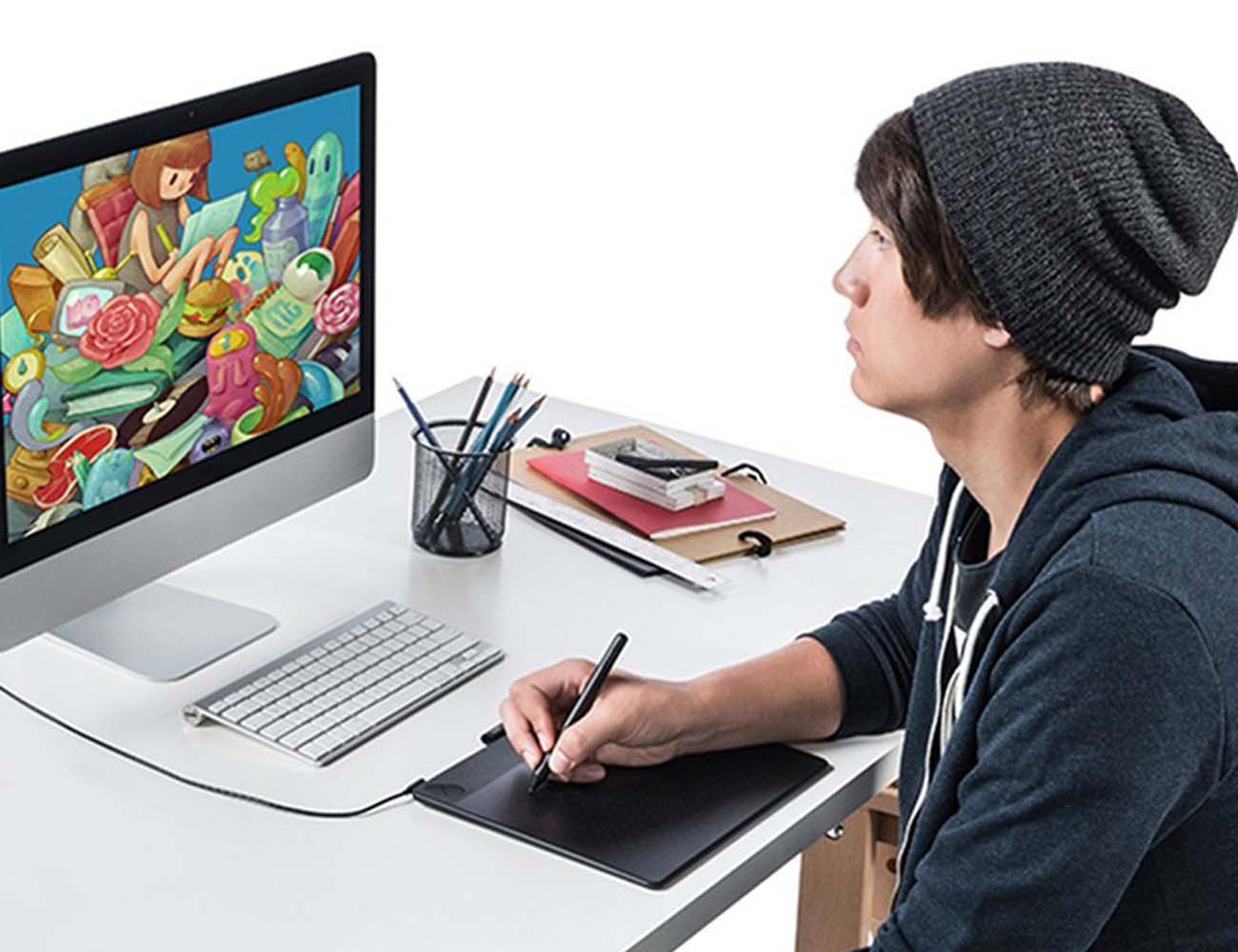 Wacom Intuos Art Pen and Touch Tablet