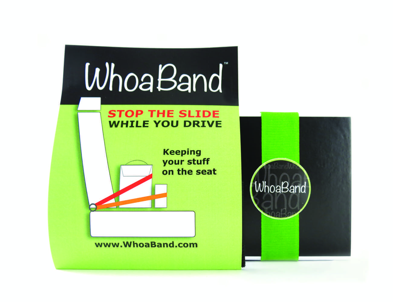 WhoaBand – Stop the slide, while you drive