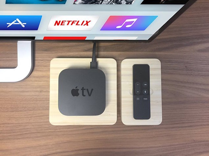 Wood+Station+for+Apple+TV+and+Remote+by+iSkelter