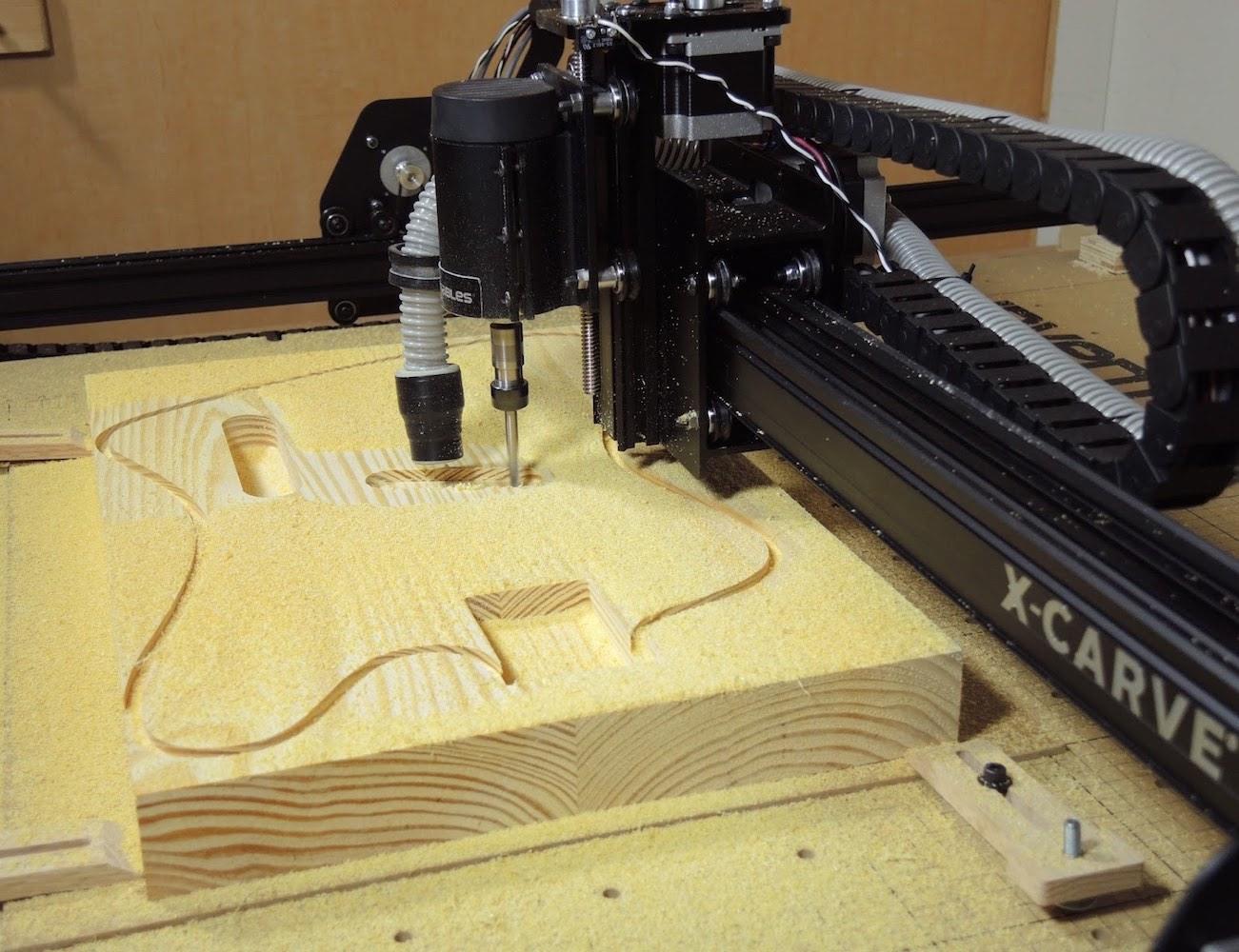 X-Carve+Open+Source+CNC+Machine