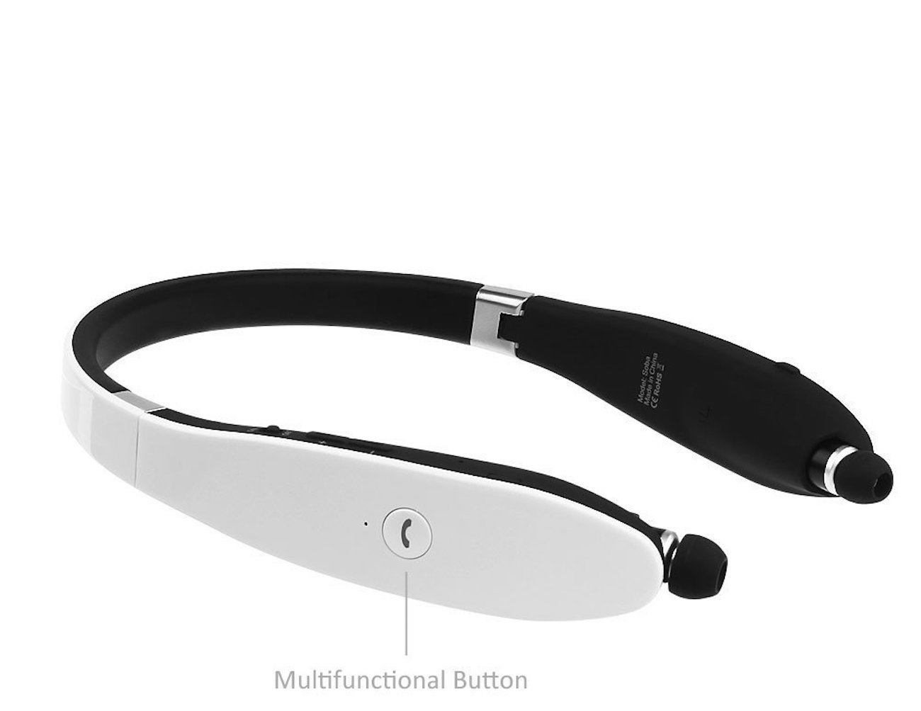 aLLreLi Bluetooth 4.0 Soba Retractable Wireless Stereo Headset