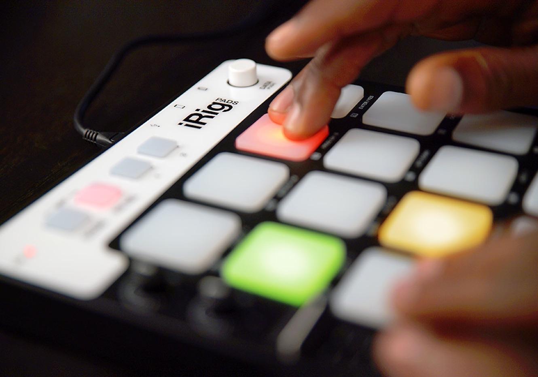 iRig Pads MIDI Groove Controller by IK Multimedia