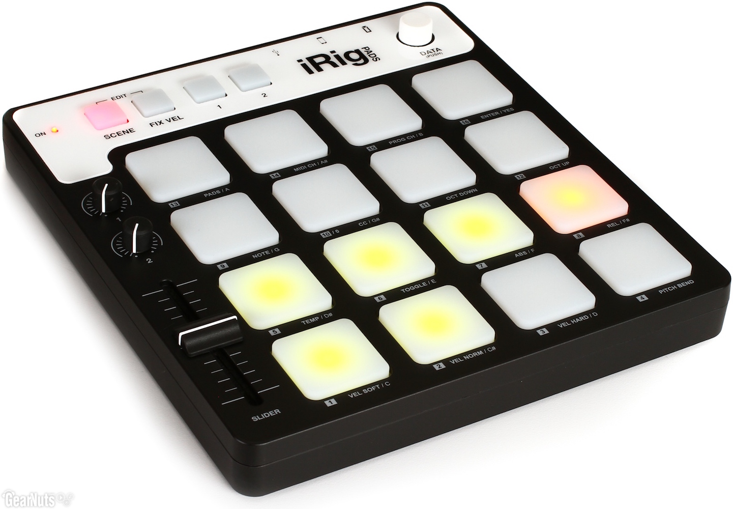 iRig Pads MIDI Groove Controller by IK Multimedia