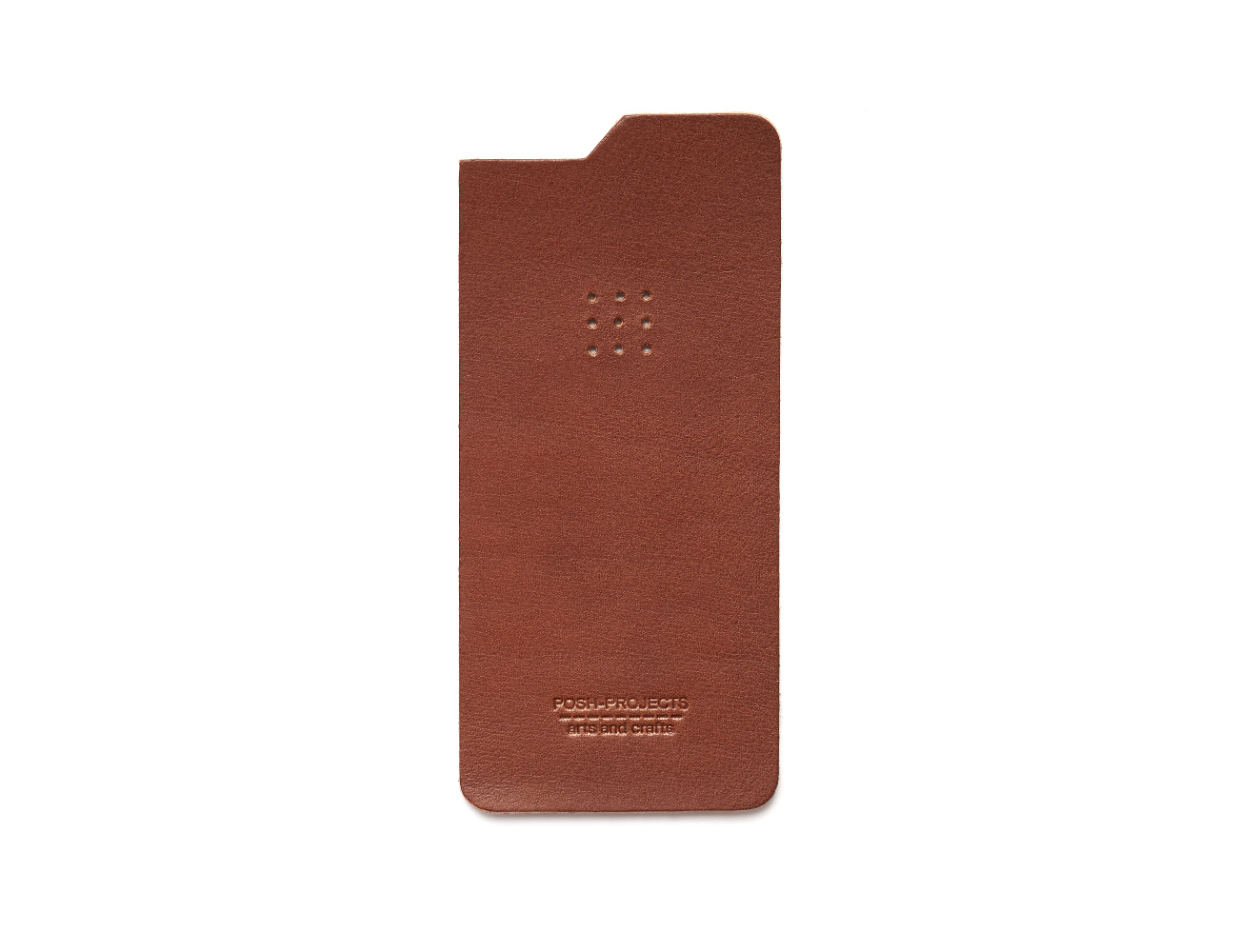 504 iPhone Leather Skin by Posh Projects