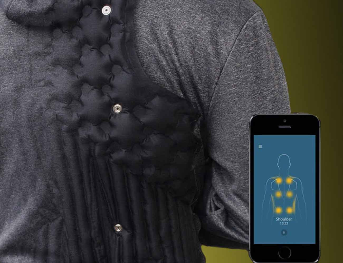 AiraWear – World's First Smart Comfort Jacket