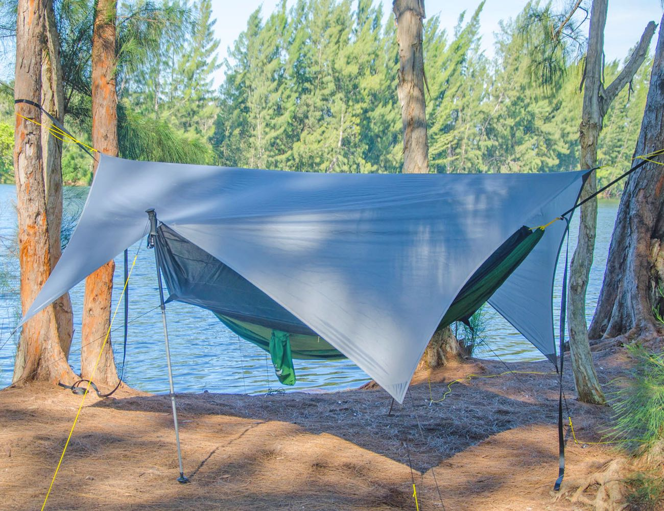 Apex Camping Shelter & Hammock Camping Tarp for Everyone