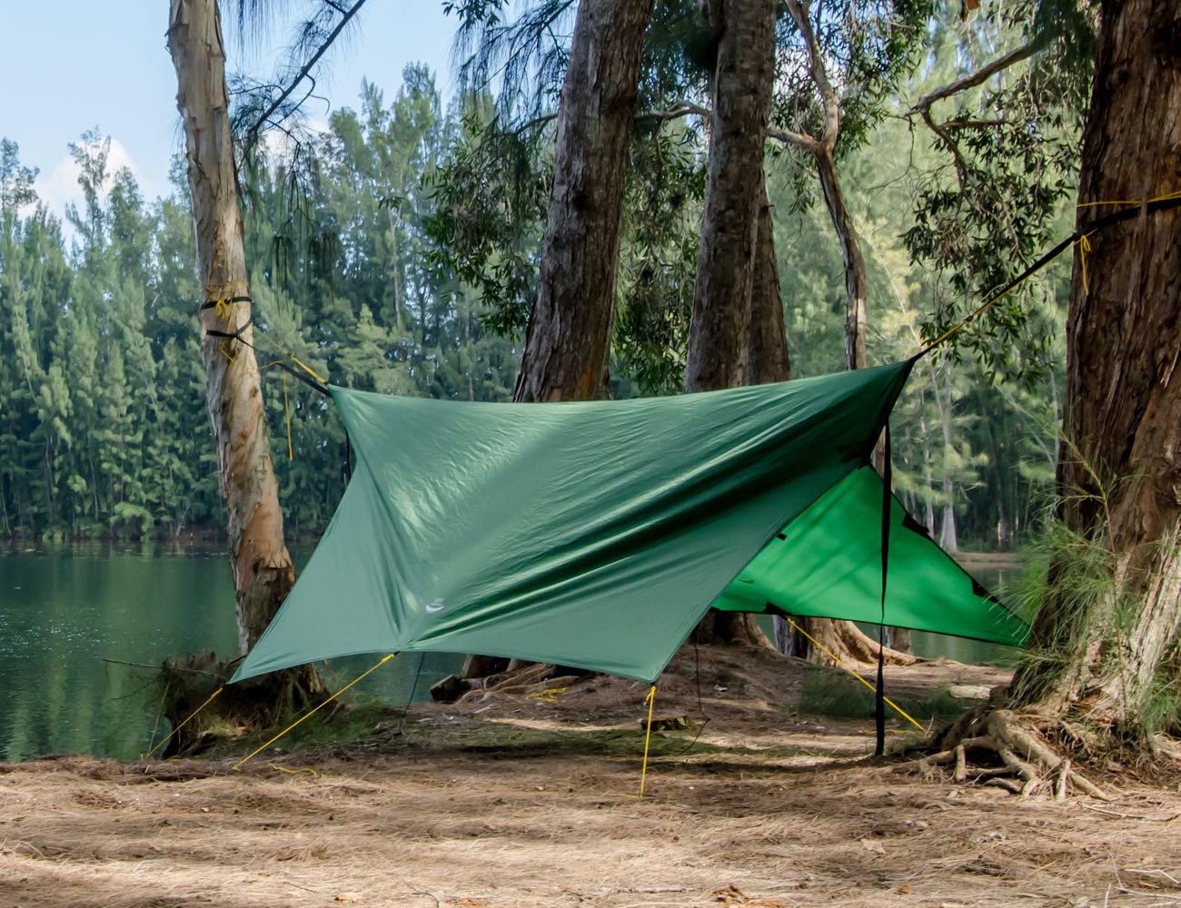 Apex Camping Shelter & Hammock Camping Tarp for Everyone