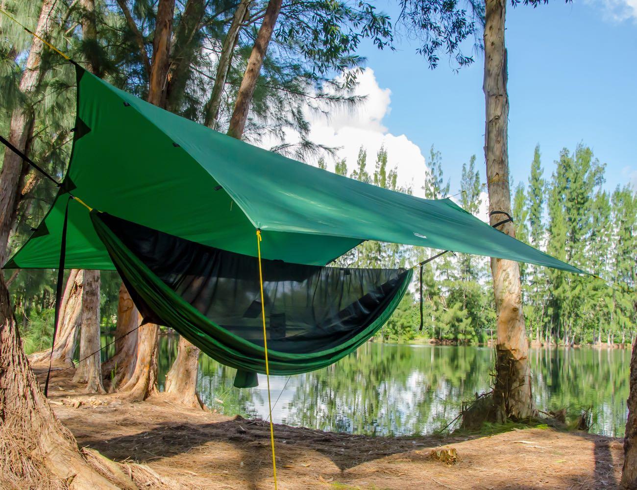 Apex Camping Shelter & Hammock Camping Tarp for Everyone ...