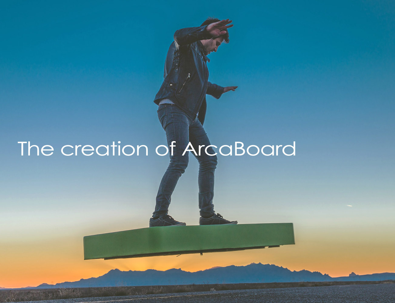 ArcaBoard – Revolutionary Vehicle That Lets You Fly in Air