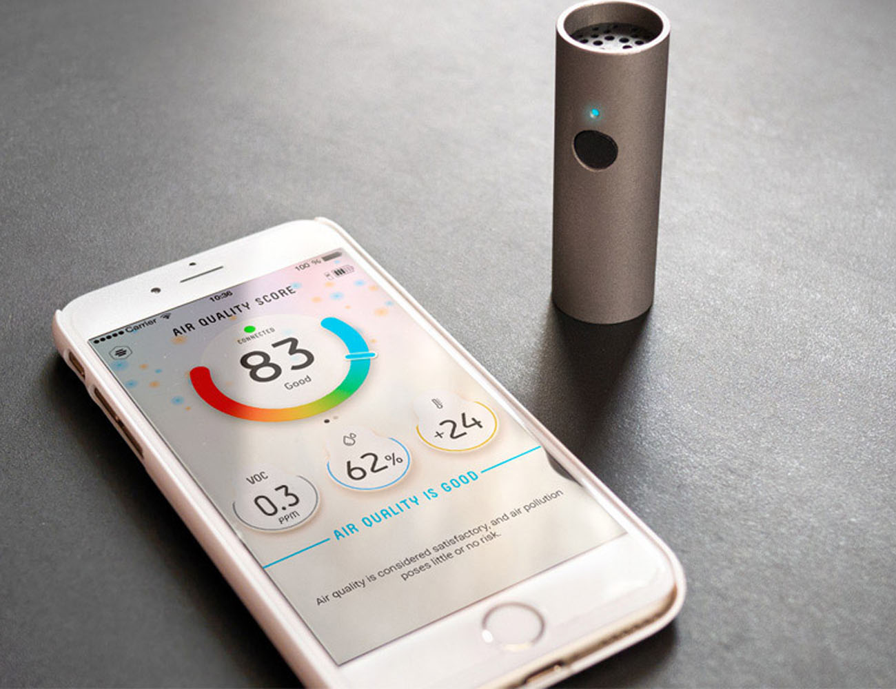 Atomtube – The Portable Air Pollution Monitor