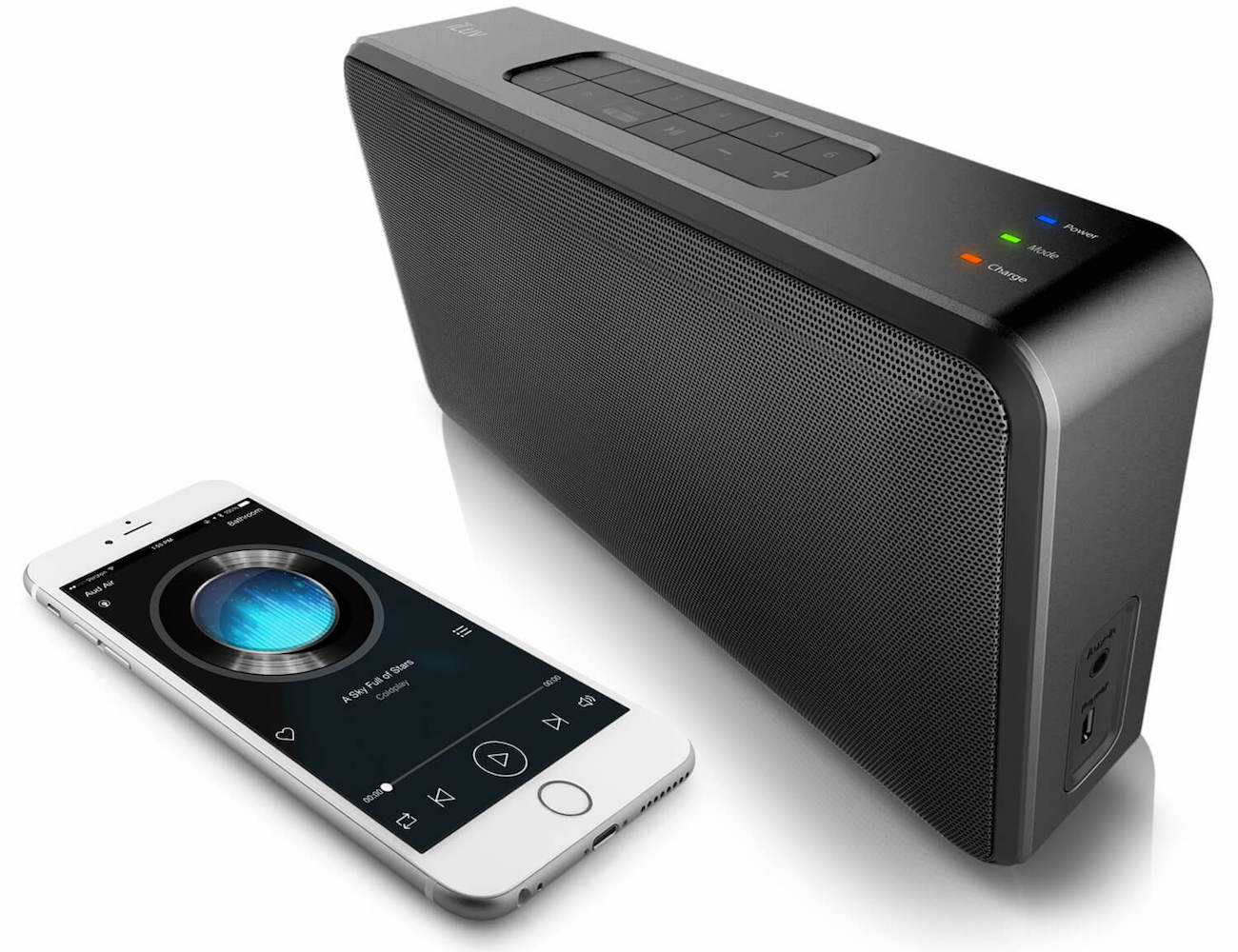 Aud Air Wireless Portable Stereo Speaker