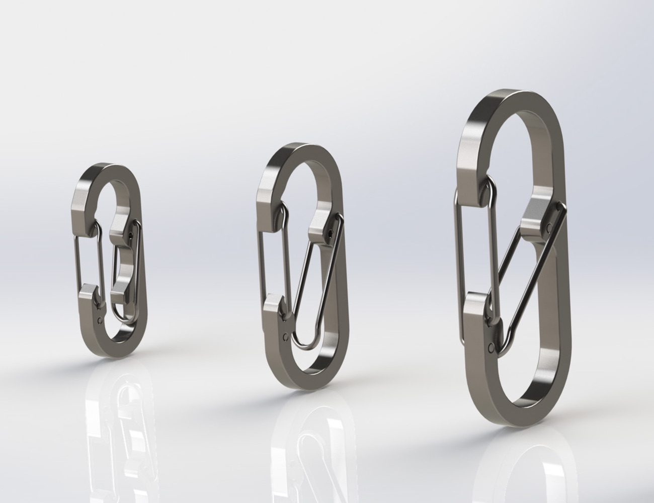 Binary Titanium Carabiner