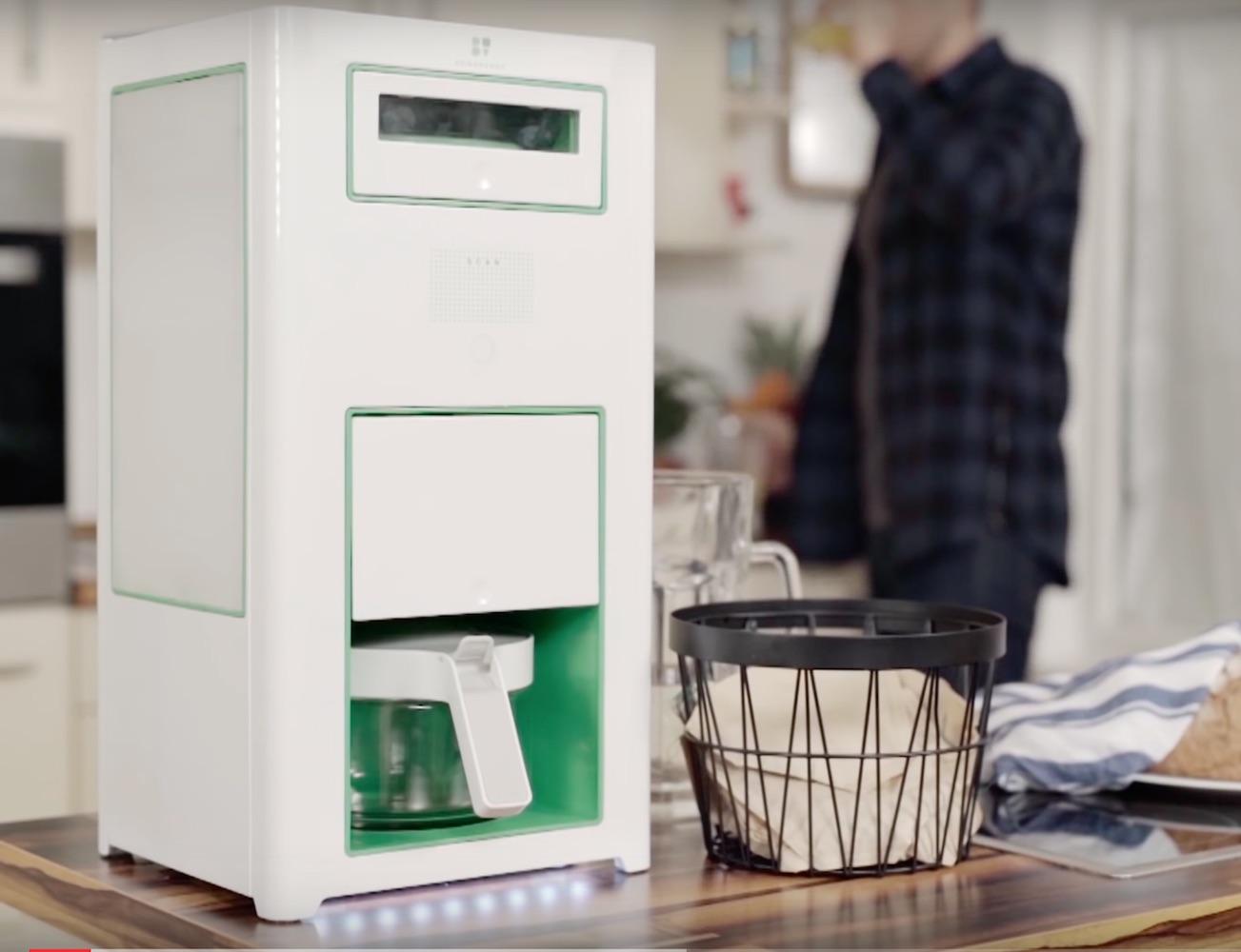 Bonaverde – The World's First Roast, Grind, Brew Coffee Machine
