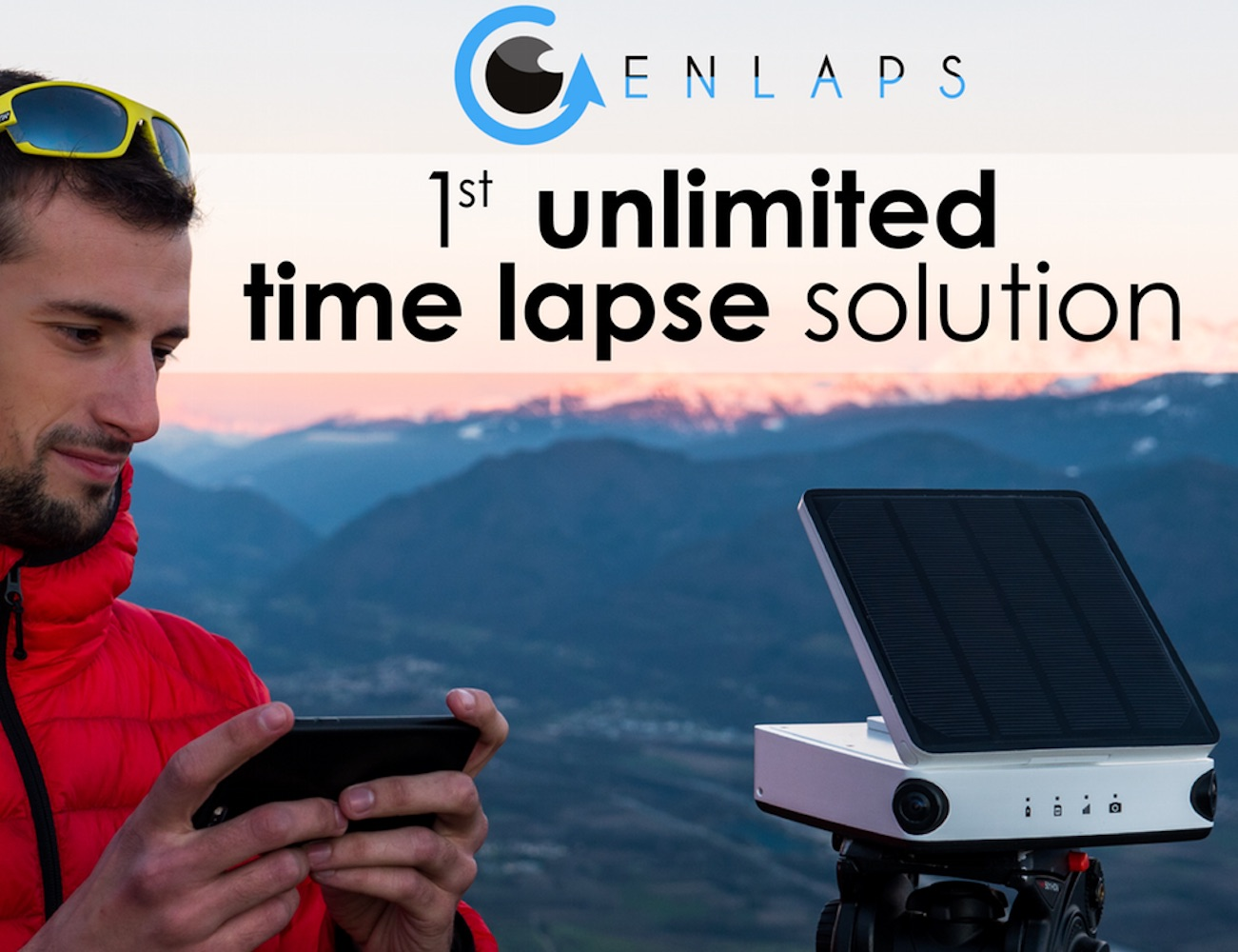 Enlaps Tikee – The World's First Unlimited Time-Lapse Photography Solution