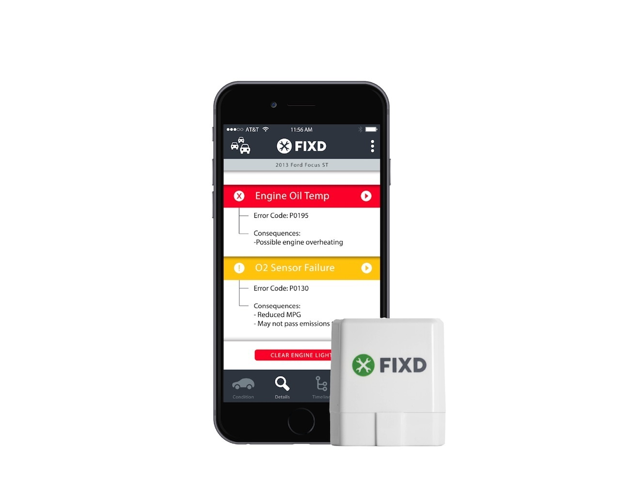 FIXD – The Active Car Health Monitor