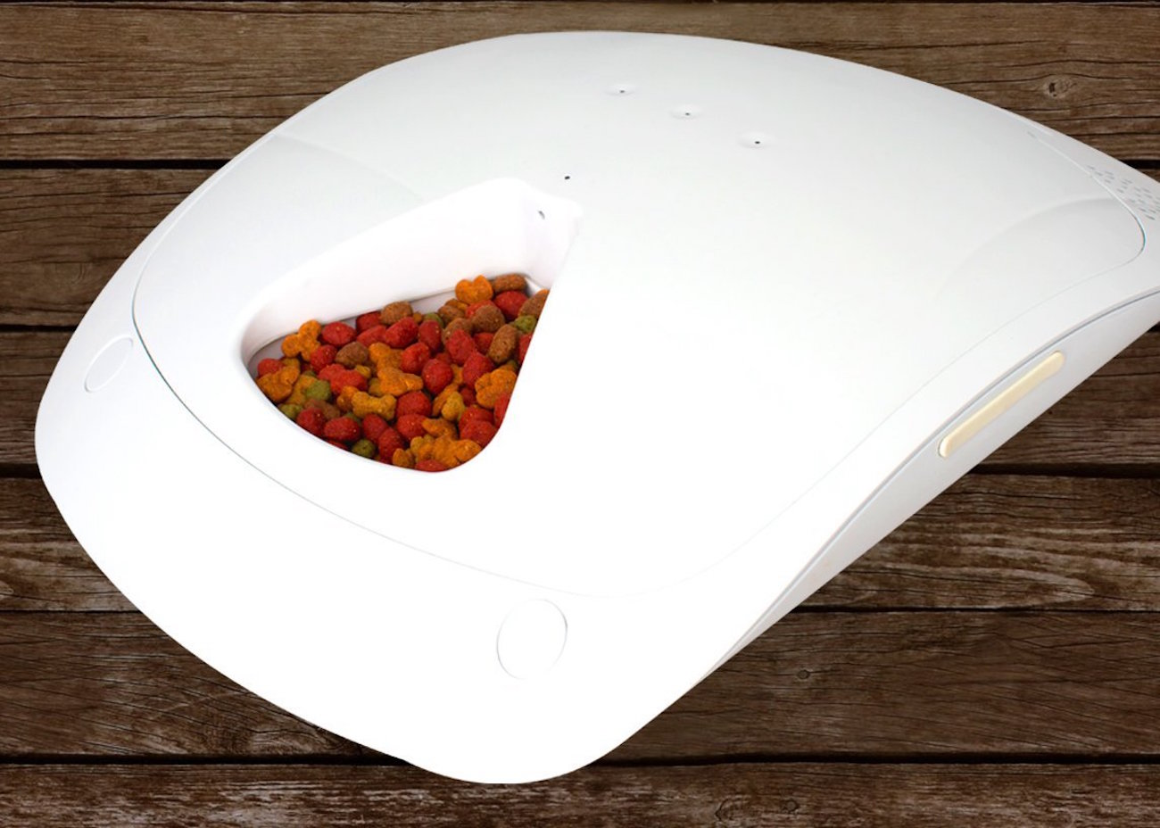 Feed and Go Smart Pet Feeder with Wi-Fi