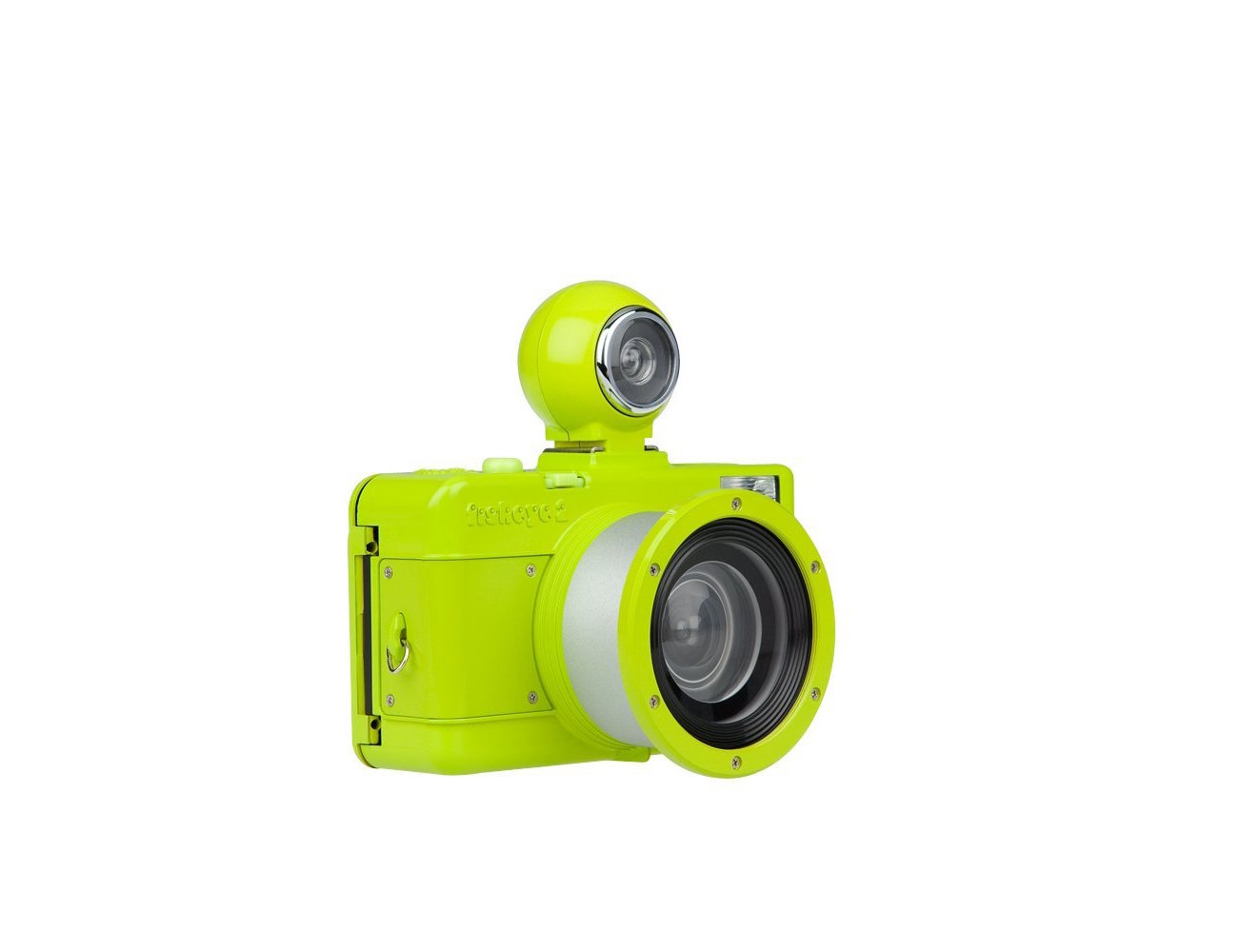 Fisheye No. 2 Lime Punch Camera by Lomography