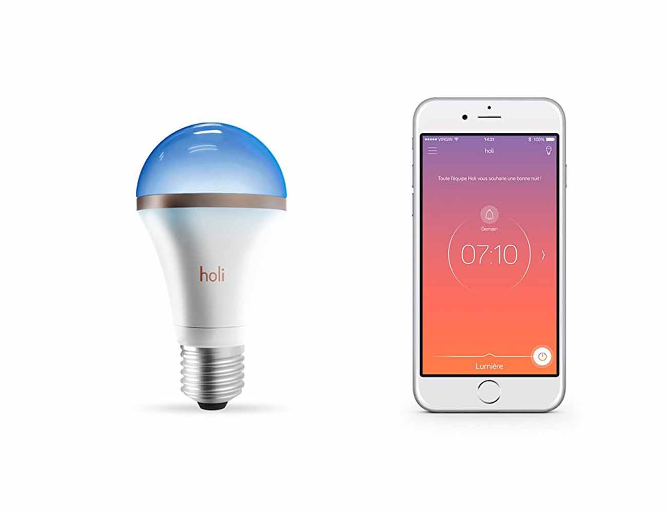 Holî SleepCompanion – The Sleep Enhancing and Monitoring Light