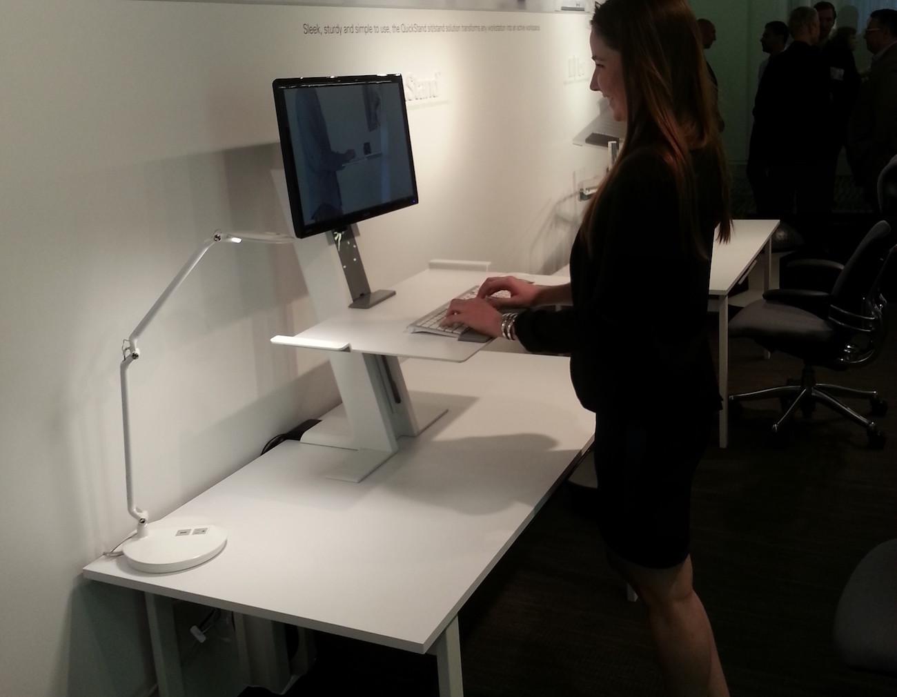 Humanscale Quickstand Light Desk Mount Review 187 The Gadget