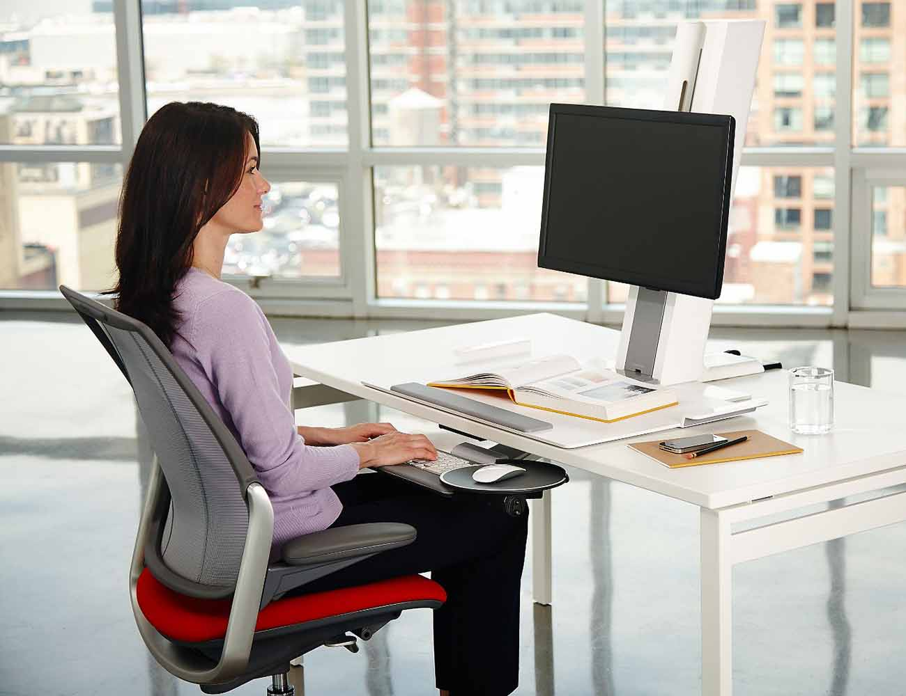 Humanscale QuickStand Light Desk Mount