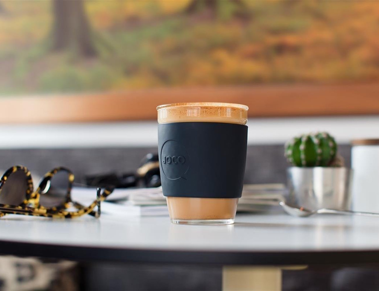 JOCO Glass – Reusable 12oz Coffee Cup