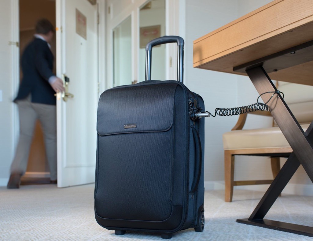 Travel fashionably and securely with the Kensington SecureTrek bag range for travelers.
