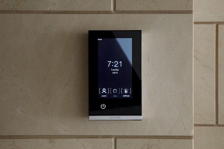 kohler dtv digital shower interface review the gadget flow