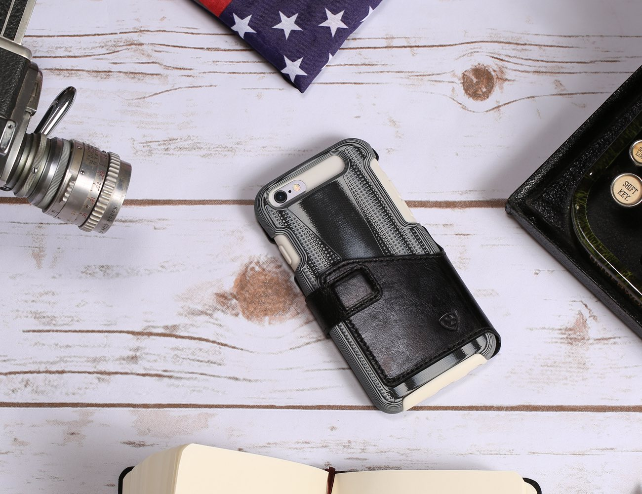 Linen Micarta Carbon Fiber and G10 Phone Case