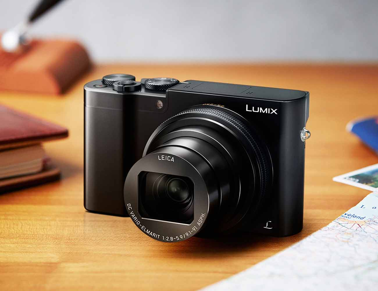 Lumix ZS100 – 4K Digital Camera With 20 MP Sensor from Panasonic