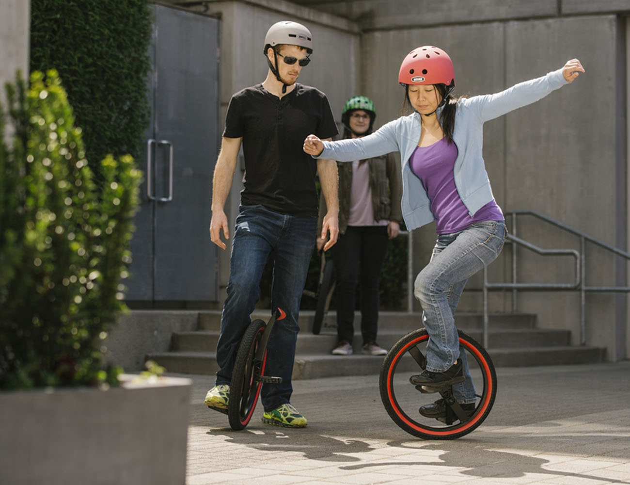 Lunicycle – The Pedal Powered Unicycle