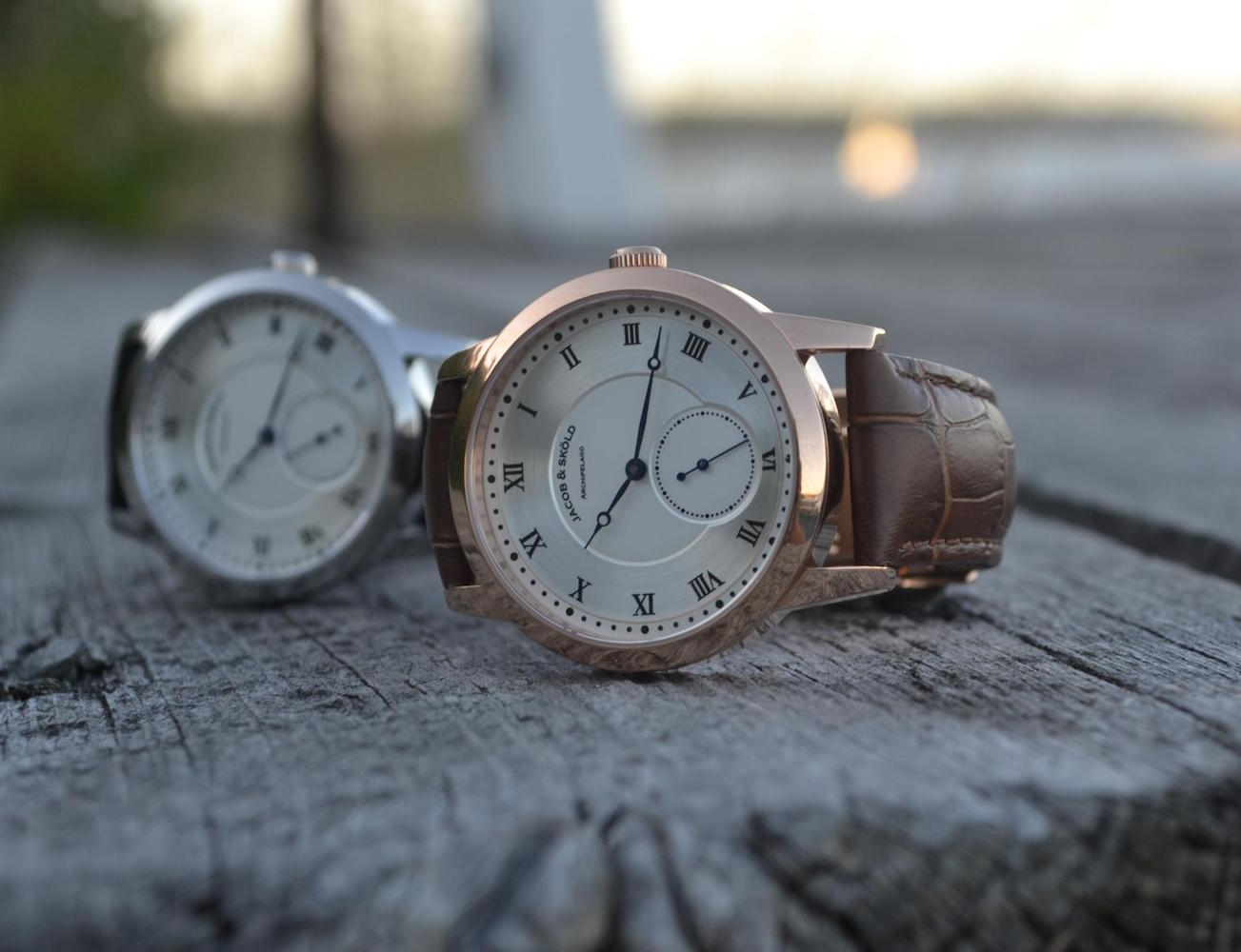 Minimal and Quality Wristwatches From Jacob and Skoeld