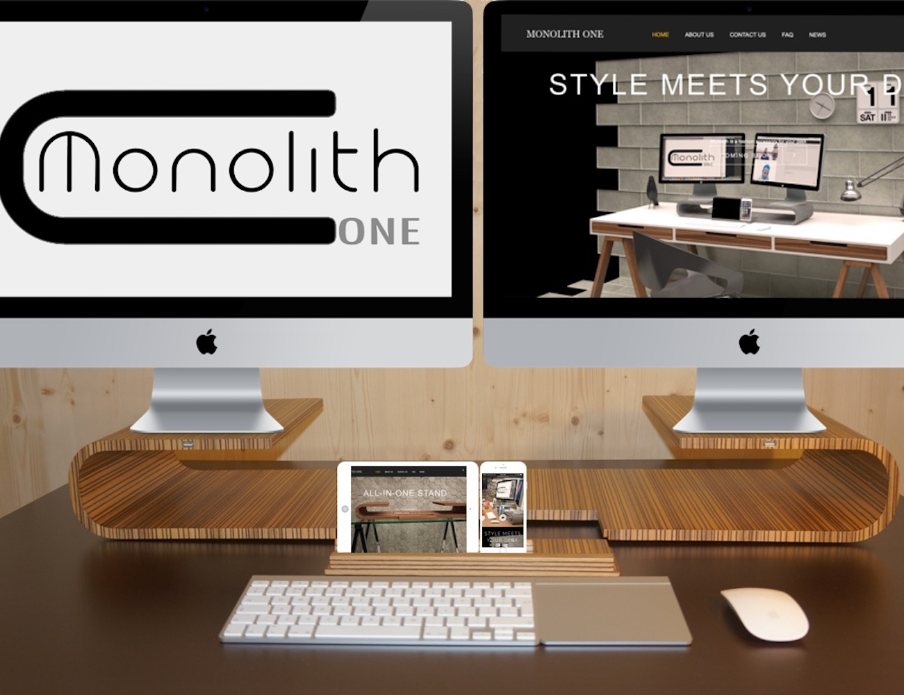 Monolith ONE – The All in One Stand for Your Devices