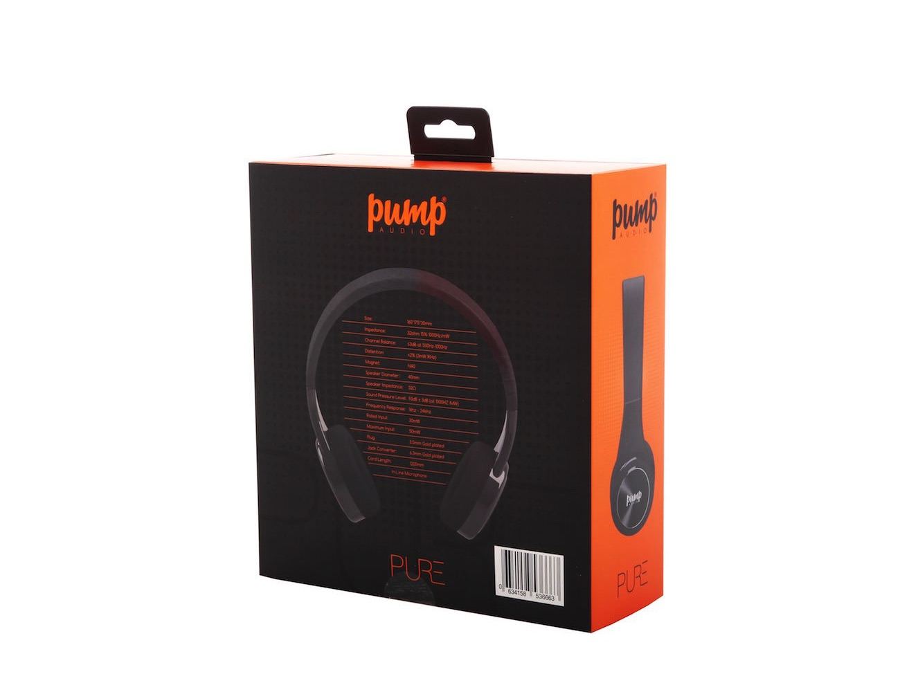 Pump Pure Headphones