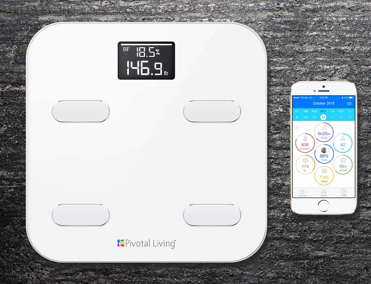 Pivotal Living Bluetooth Smart Scale