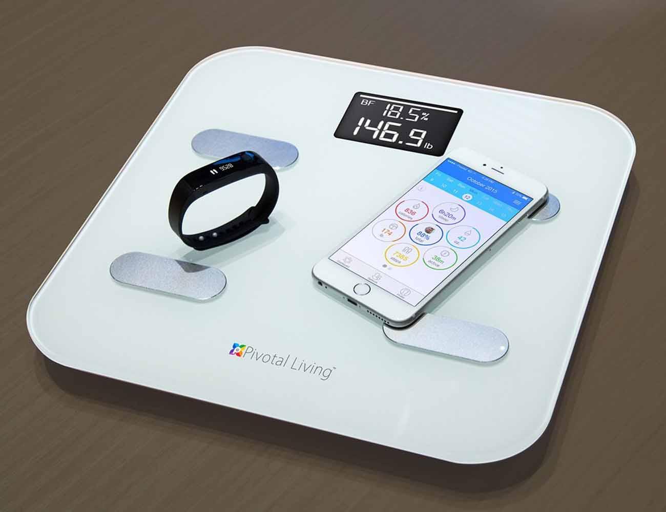 Pivotal Living Bluetooth Smart Scale