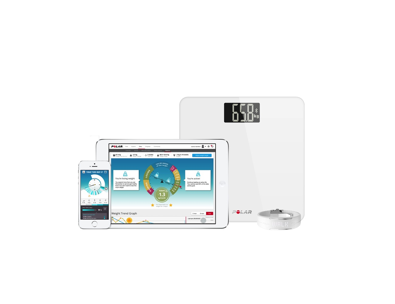 Polar Balance – The Smart Scale for Wearables