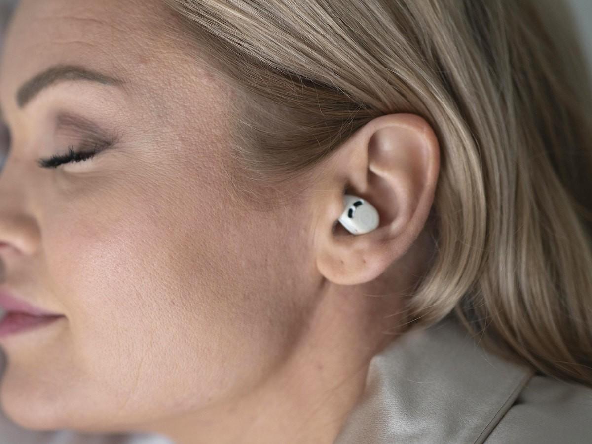 QuietOn 3 advanced noise cancelling earplugs create silence so you can sleep better