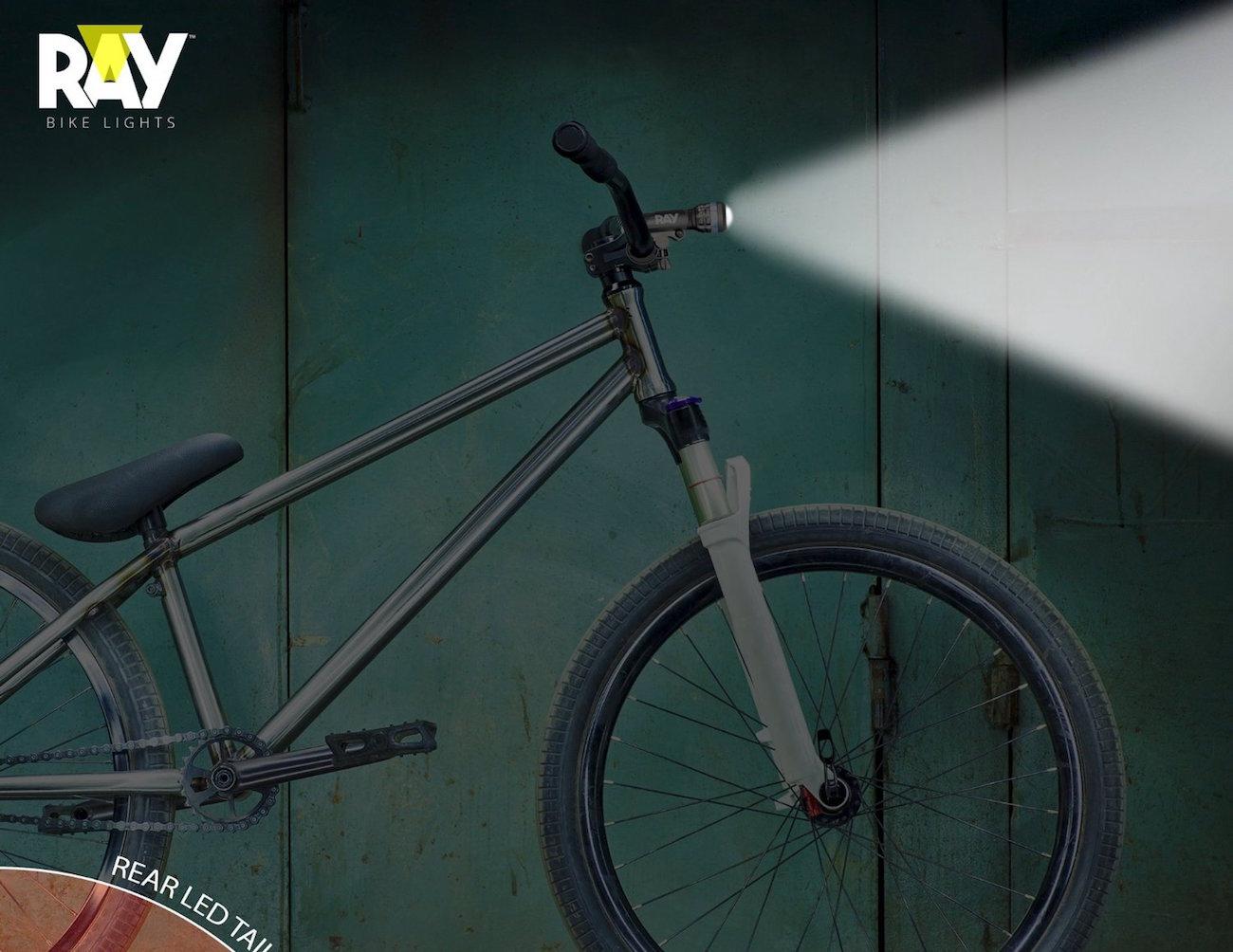RAY+Ultra+LED+Bike+Light+Combo+Kit