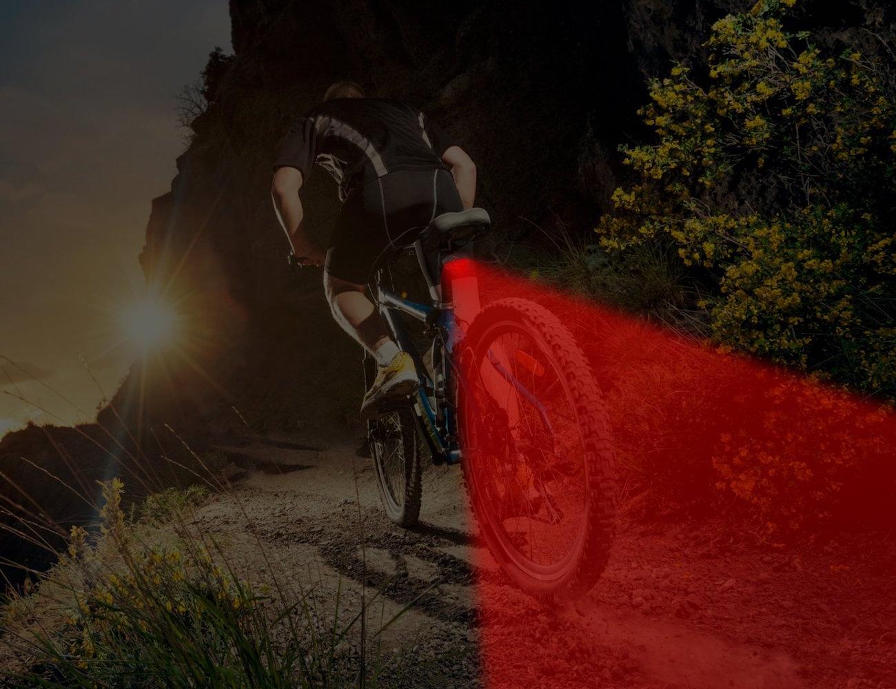 RAY Ultra LED Bike Light Combo Kit